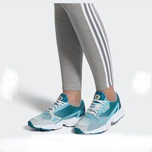Adidas Falcon Originals Blue Sneakers